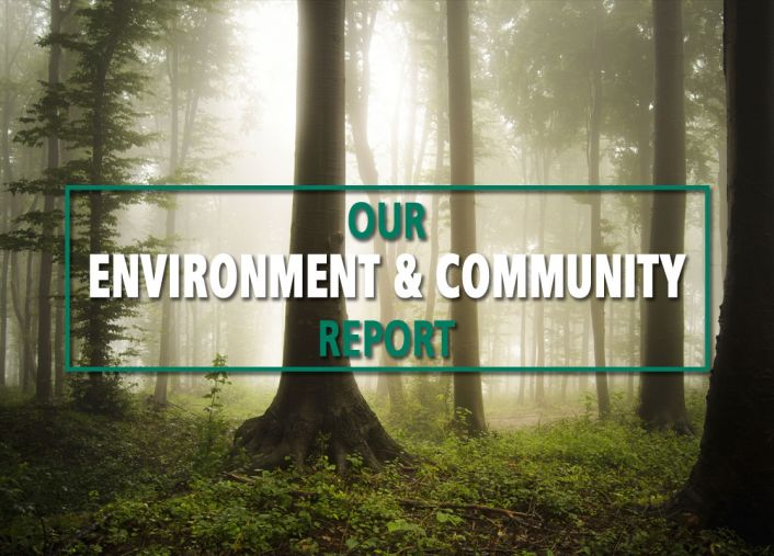OUR COMMITMENT TO THE ENVIRONMENT AND OUR COMMUNITY